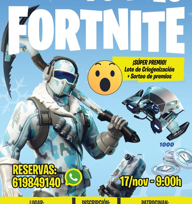Torneo Fortnite Criogenización