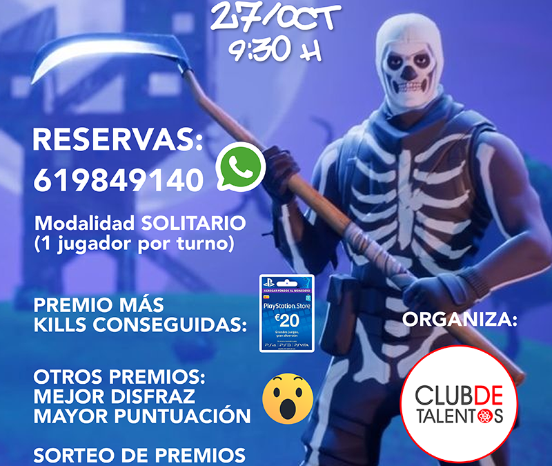I Torneo Fortnite Halloween Elche 2018