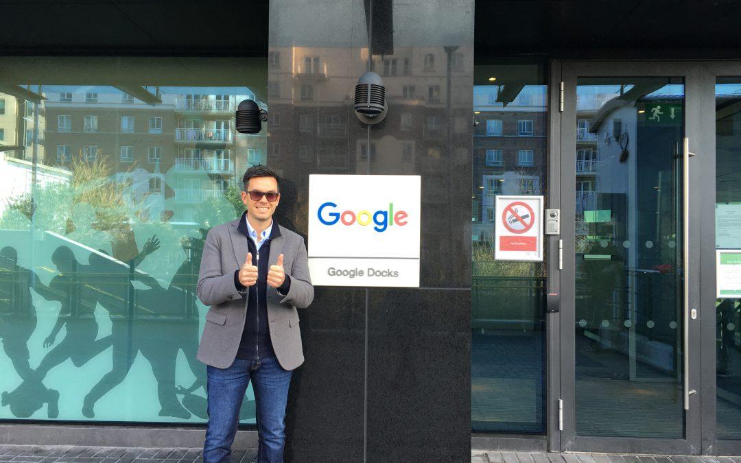 Jornada centrada en Google