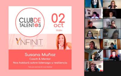 «No hay error, hay aprendizaje» – Susana Muñoz en Club de Talentos